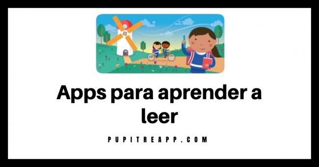 Apps para aprender a leer en casa