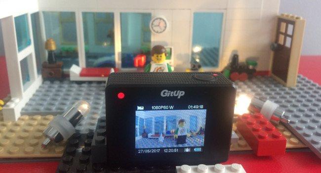 Stop motion con la cámara Gitup git2